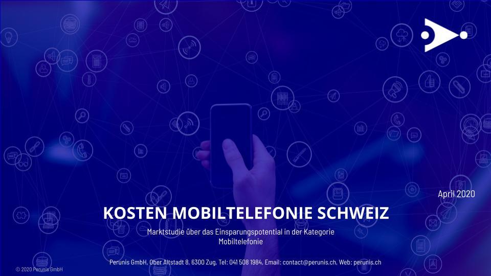 Ergebnisse der grossen Marktstudie über das Einsparungspotential in der Kategorie Mobiltelefonie